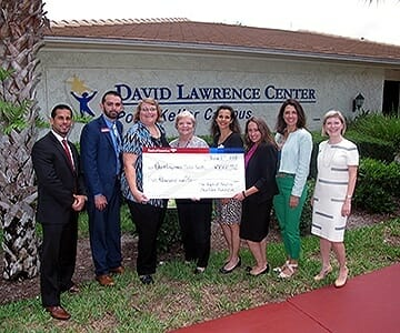 David Lawrence Center Awarded a $5,000 Grant from Bank of America for Supported Employment Services